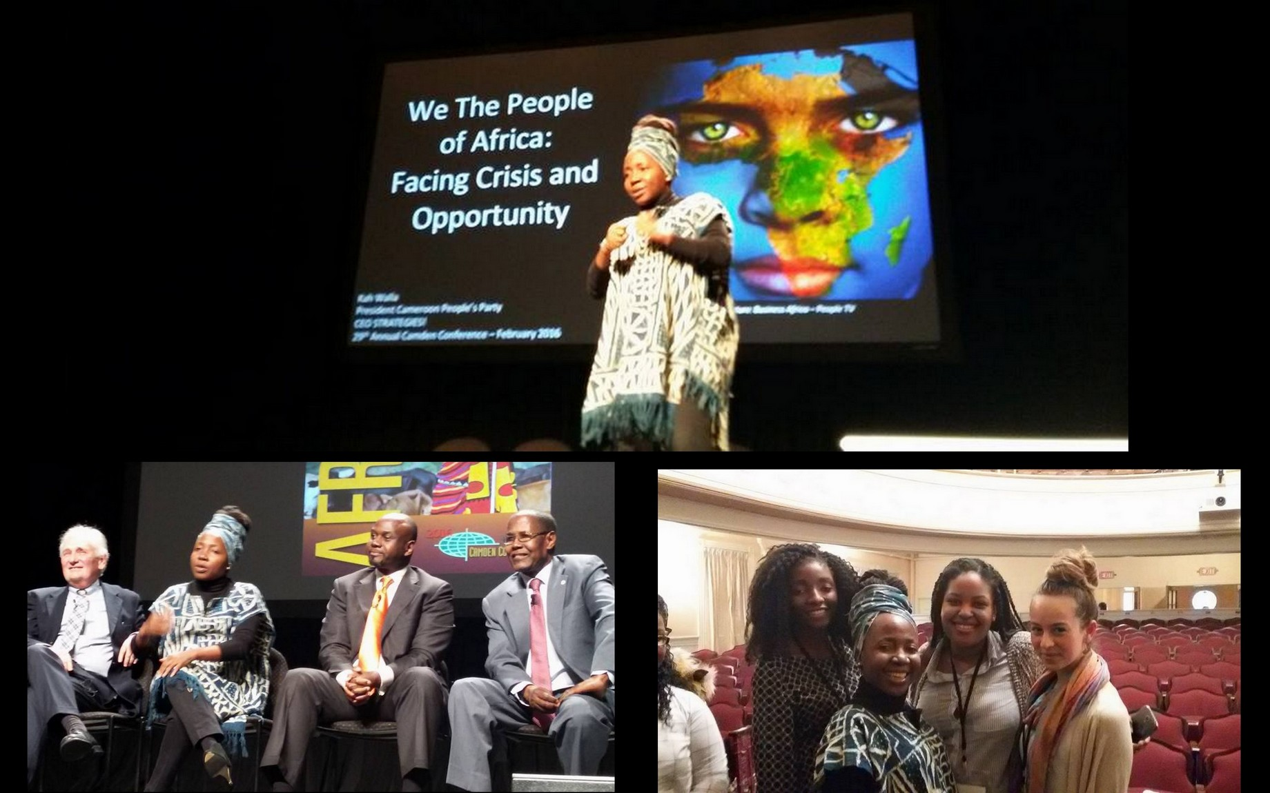 Kah Walla at Camden Conference: The NEW AFRICA