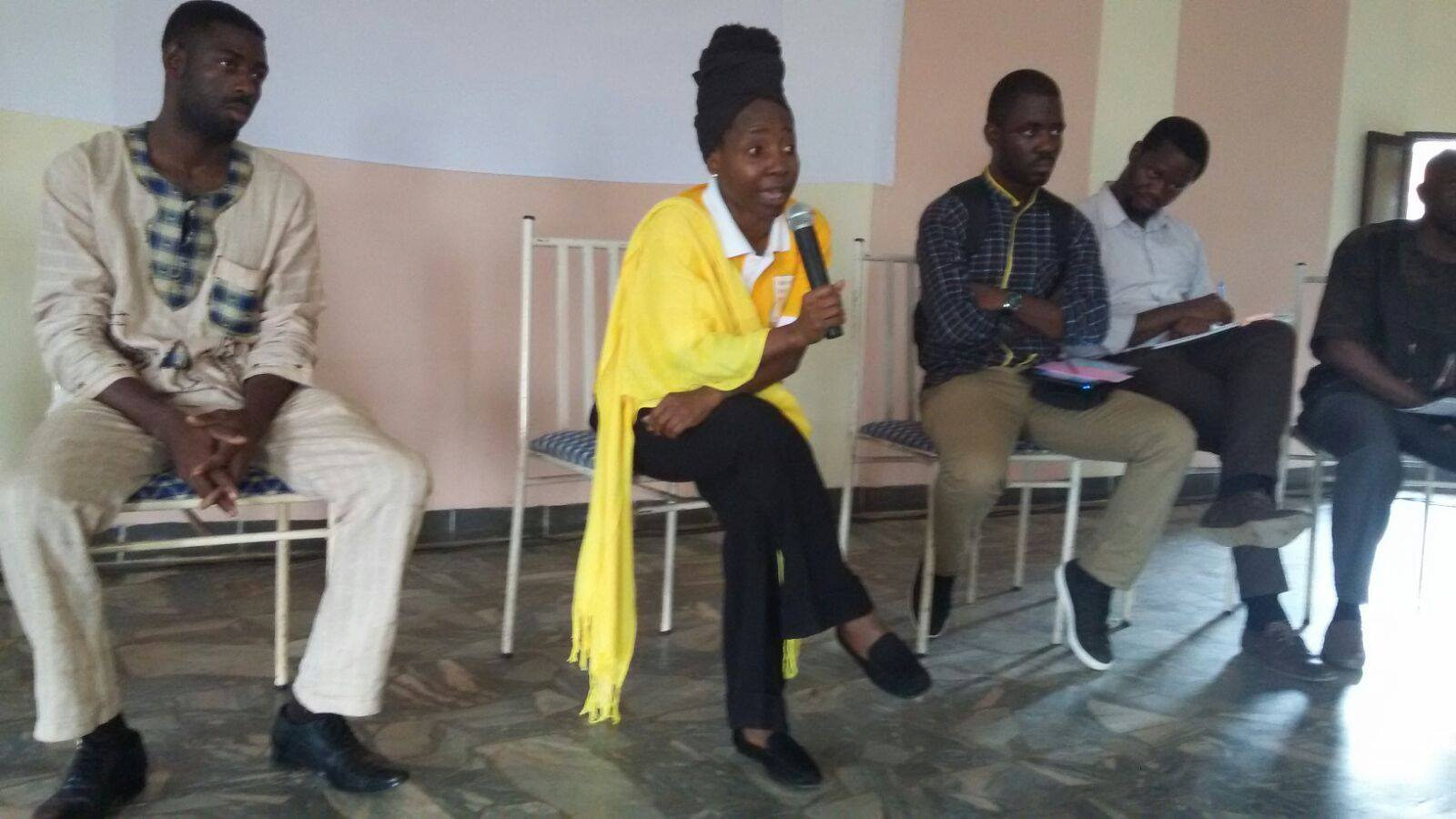 Kah at CPP Forum on Youth and Employment in Yaounde